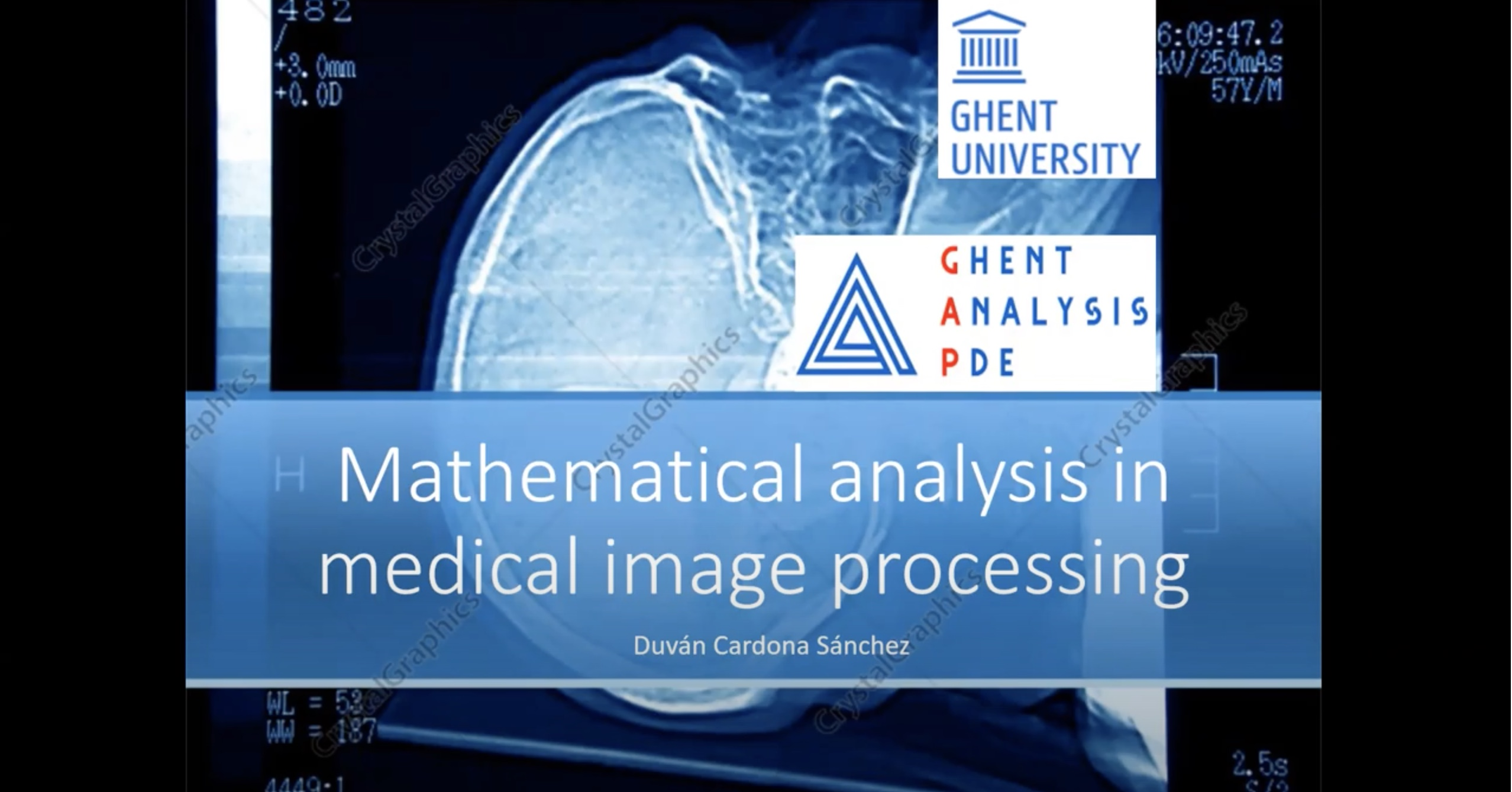 Image Processing and Mathematical Analysis