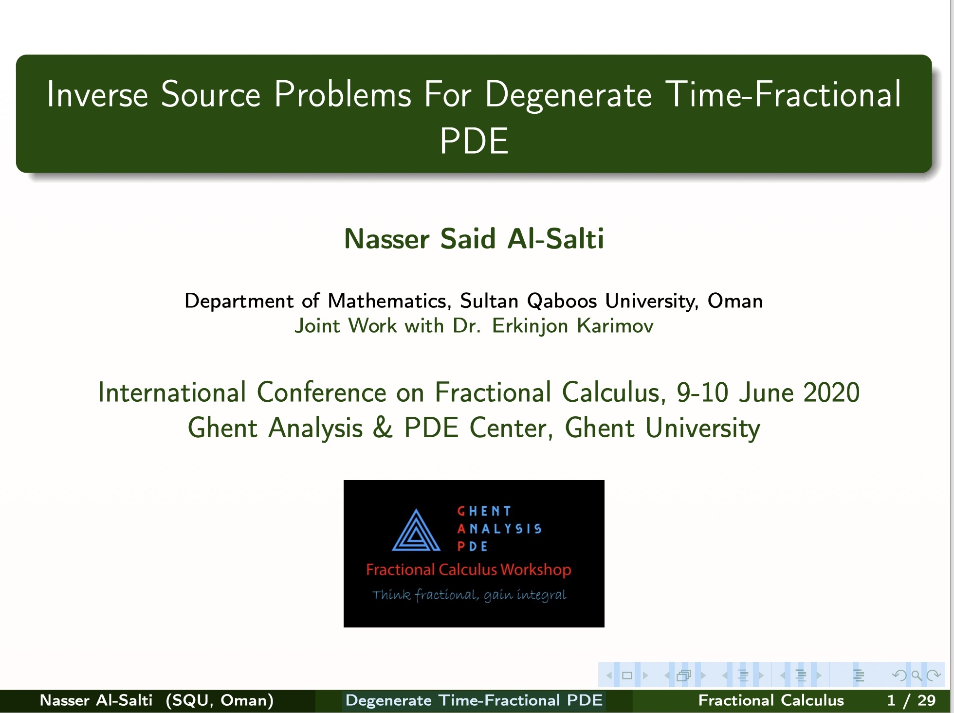 Al Salti and Karimov_ IP for Degenerate PDE