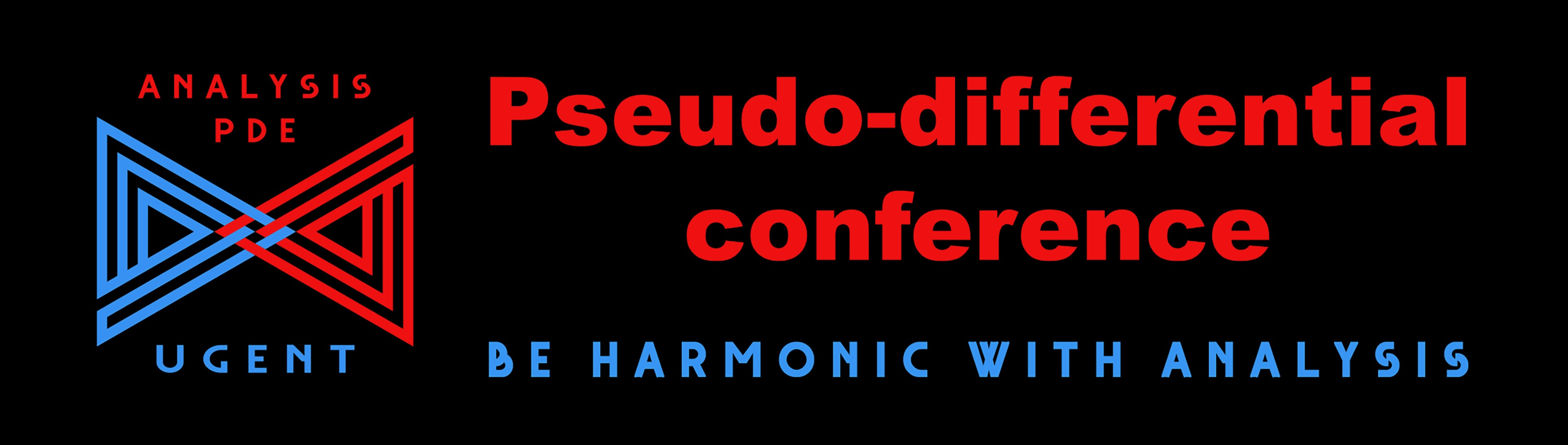 Pseudo-Differential Conference to be held on 7-8 July 2020 (by ZOOM)